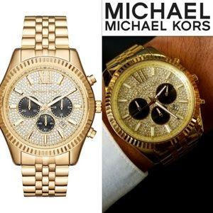 Michael Kors Men's MK8494 44MM Lexington Chronogra